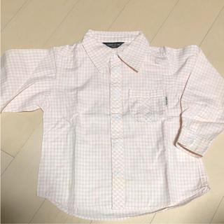 コムサイズム(COMME CA ISM)のくシャツ    女の子 コムサ  ギンガムチェックシャツ(ブラウス)