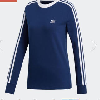 adidas - 新品 未使用 タグ付き adidas 3ストライプ 長袖Tシャツ