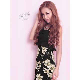 デイジーストア(dazzy store)のTIKA ティカ ワンショル 花柄 ドレス(ミディアムドレス)