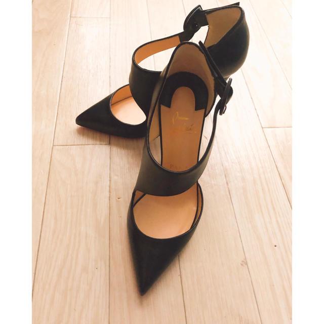 Christian Louboutin(クリスチャンルブタン)の正規品・新品♡クリスチャンルブタン ピンヒールパンプス 37 黒 レディースの靴/シューズ(ハイヒール/パンプス)の商品写真
