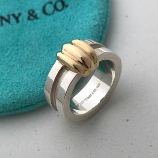 ティファニー(Tiffany & Co.)のTIFFANY グルーブドコンビリング 8号(リング(指輪))