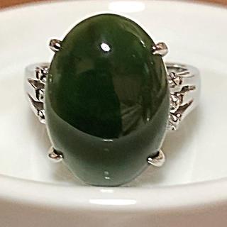 グリーンストーン 指輪 約14号(リング(指輪))