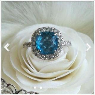 うっとりするブルーの指輪(リング(指輪))