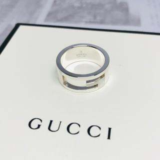 グッチ(Gucci)の美品 グッチ GUCCI Gロゴ シルバー リング 指輪 サイズ12号(リング(指輪))