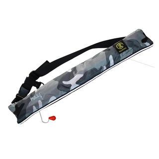 ライフジャケット 大人用 ベルトタイプ手動誇張式 白  釣り(ウエア)