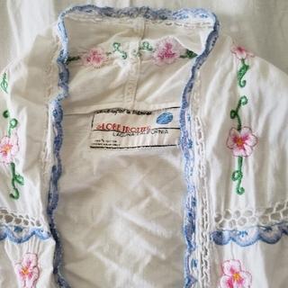 エディットフォールル(EDIT.FOR LULU)のヴィンテージ 刺繍 ブラウス しょこ様専用(シャツ/ブラウス(半袖/袖なし))