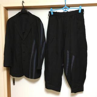 ヨウジヤマモト(Yohji Yamamoto)の16SS ヨウジヤマモト プールオム  セットアップ(セットアップ)
