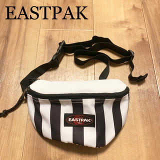 EASTPAK - ★未使用★EASTPAK イーストパック ミニショルダーバッグ 白 黒 ポーチ