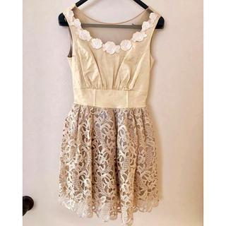 リリーブラウン(Lily Brown)のLilly brown ドレス(ミディアムドレス)