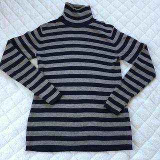 ムジルシリョウヒン(MUJI (無印良品))の無印良品 首のチクチクをおさえたタートルネックセーター サイズM メンズ②(ニット/セーター)