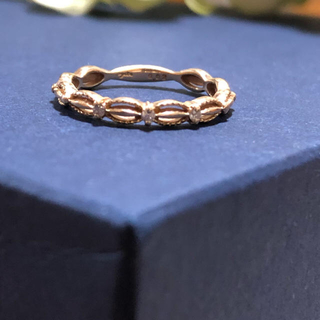 アガット(agete)の★agete K10 ダイヤモンド ドレス リング(リング(指輪))