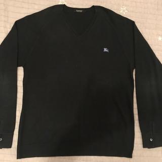 バーバリーブラックレーベル(BURBERRY BLACK LABEL)のBurberry Black label ブラックレーベル 綿100% Vネック(ニット/セーター)