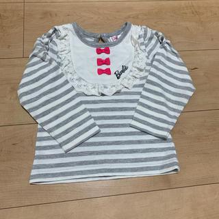 バービー(Barbie)のBarbie 長袖Tシャツ 95センチ 女の子(Tシャツ/カットソー)