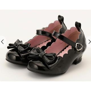 エニィスィス(anySiS)の新品 オンワード 靴 黒 パンプス フォーマル(フォーマルシューズ)