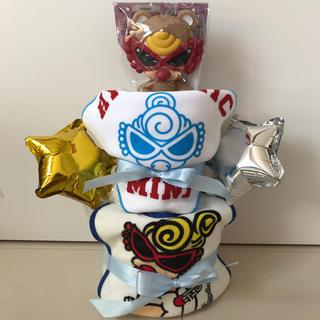 HYSTERIC MINI - ヒステリック ミニ ヒスミニ おむつケーキ 2段 おもちゃ付き