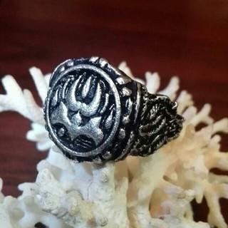 古代バイキングの紋章 熊の手のリング(リング(指輪))