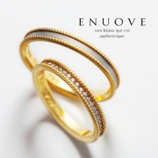 ENUOVE(イノーヴェ)/エタニティリング/ダイヤモンド/K18/プラチナ(リング(指輪))