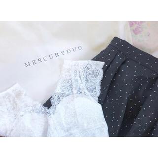 マーキュリーデュオ(MERCURYDUO)のマーキュリーデュオ  ビスチェ スカート(ひざ丈スカート)