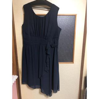 ニッセン(ニッセン)の結婚式用パーティードレス 17ABR80(ミディアムドレス)