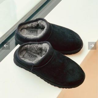 フレームワーク(FRAMeWORK)のMiko様専用   UGG アグ classic sripper   黒 新品 (ブーツ)