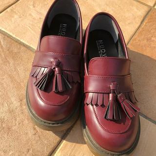 ヌォーボ(Nuovo)のNUOVO ヌオーヴォ ローファー Mサイズ(24センチくらい) 中古美品(ローファー/革靴)