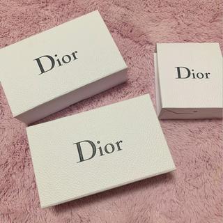 ディオール(Dior)のギフトボックス♡(ラッピング/包装)