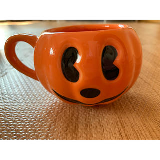 ディズニー(Disney)のディズニー♡ハロウィンミッキーミニーカップ(キャラクターグッズ)