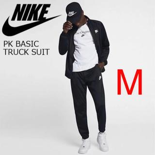 ナイキ(NIKE)の新品 ナイキ 2019新作 トラックスーツ ブラック M 上下セット 送料無料(ジャージ)