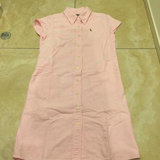 ラルフローレン(Ralph Lauren)のシャツワンピース130 ラルフローレン(ワンピース)
