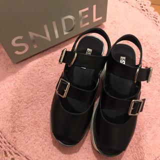 snidel - snidel サンダル