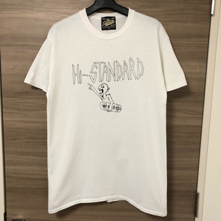 HIGH!STANDARD - 【Hi-Standard】エアジャム 2018 Tシャツ M 白 黒 ロゴ