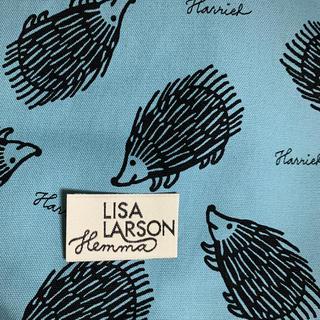 リサラーソン(Lisa Larson)のLISA LARSON はりねずみ生地&タグ(生地/糸)