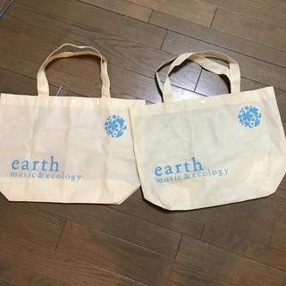 アースミュージックアンドエコロジー(earth music & ecology)のショップバッグ アース&ミュージックエコロジー(トートバッグ)