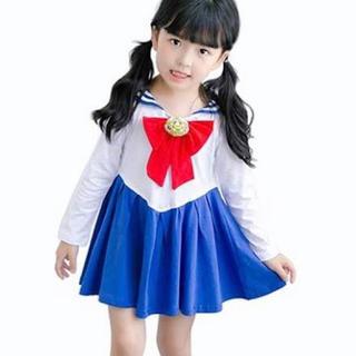 セーラームーン(セーラームーン)のセーラームーン コスプレ 女の子  140センチ(衣装)