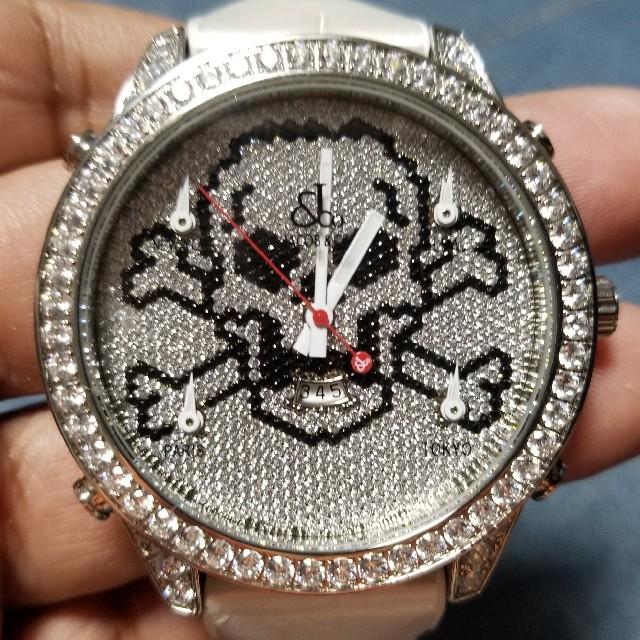 ブランド 時計 レプリカ 代引き suica - 炎上価格 値下げ中 ジェイコブ フル水晶 47㎜の通販