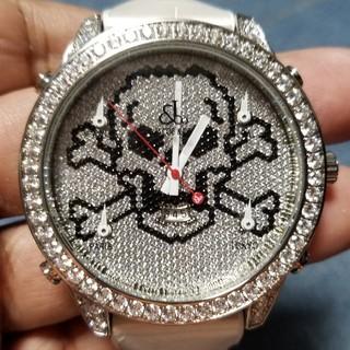 炎上価格 値下げ中 ジェイコブ フル水晶 47㎜(腕時計(デジタル))