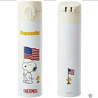 THERMOS - PEANUTS×THERMOS(サーモス) スリムボトル 400ml 送料無料