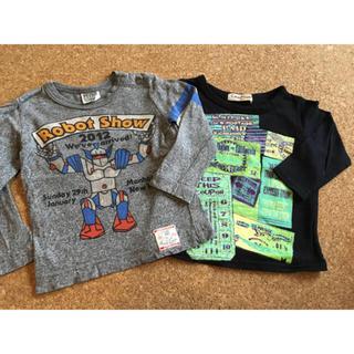 エフオーキッズ(F.O.KIDS)の長袖Tシャツ 2枚セット サイズ80(Tシャツ)