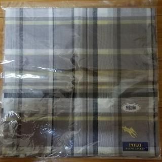 ポロラルフローレン(POLO RALPH LAUREN)の新品ポロ・ラルフローレン ハンカチ(ハンカチ/ポケットチーフ)