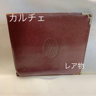 カルティエ(Cartier)のお札、カード入れ カルチェ  年代物(折り財布)