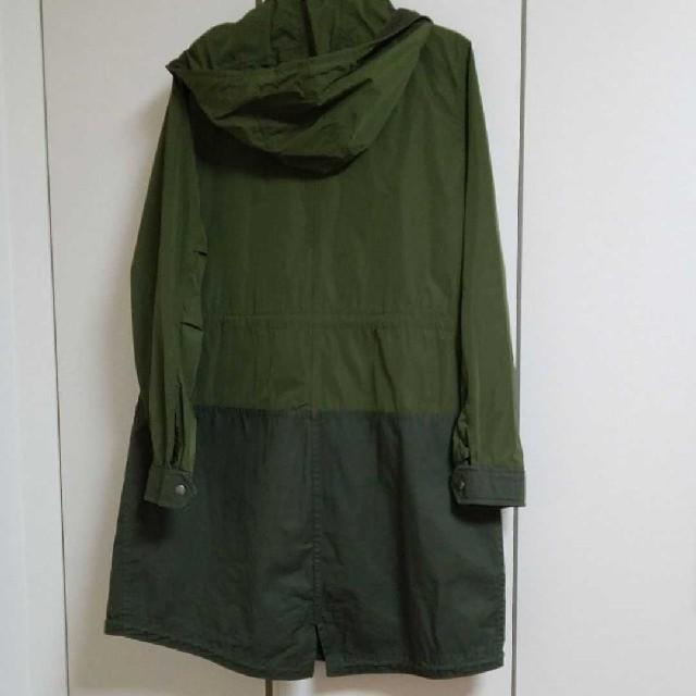 UNIQLO(ユニクロ)のユニクロ キルティングライナー付きモッズコート レディースのジャケット/アウター(モッズコート)の商品写真