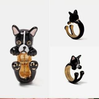 ケイトスペードニューヨーク(kate spade new york)の新品♠ケイトスペード ブルドッグ 指輪(リング(指輪))