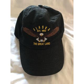 ローズバッド(ROSE BUD)のROSEBUD キャップ 帽子 黒 レディース(キャップ)
