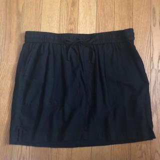 オールドネイビー(Old Navy)のOLDNAVY オールドネイビー スカート 黒 ブラック Lサイズ 大きいサイズ(ミニスカート)