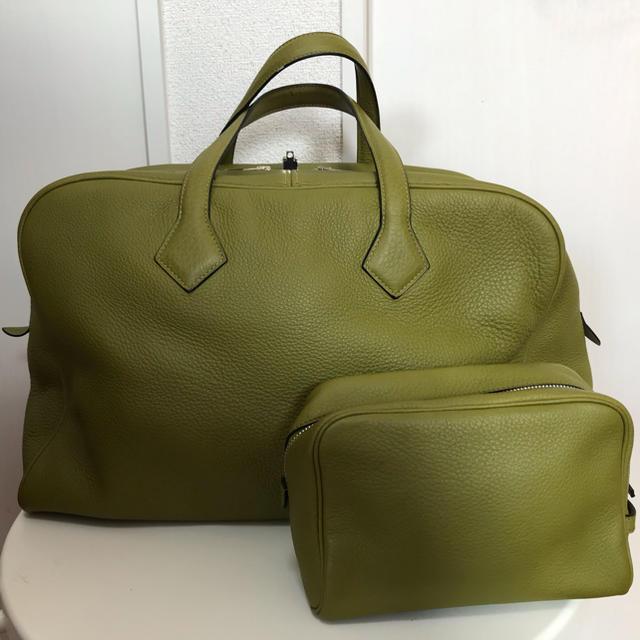 Hermes(エルメス)のHERMES☆ヴィクトリア 42&ポーチ   メンズのバッグ(ボストンバッグ)の商品写真