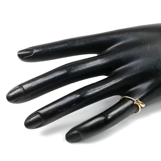 Tiffany & Co.(ティファニー)の美品 ティファニー ドロップ ゴールド リング VV12 レディースのアクセサリー(リング(指輪))の商品写真