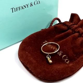 ティファニー(Tiffany & Co.)の美品 ティファニー ドロップ ゴールド リング VV12(リング(指輪))