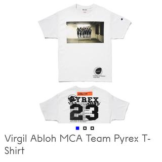 オフホワイト(OFF-WHITE)のVirgil Abloh MCA Team Pyrex T-Shirt / L(Tシャツ/カットソー(半袖/袖なし))