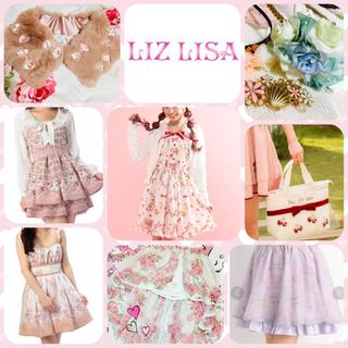 リズリサ(LIZ LISA)のリズリサ   ギンガム ラビットワンピース 新品 他 スカート うさぎ(ミニワンピース)