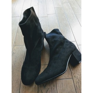シマムラ(しまむら)のストレッチ ショート ブーツ(ブーツ)